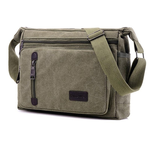 Vintage  Crossbody Canvas Messenger Bag -men's Bags - 30$fashion