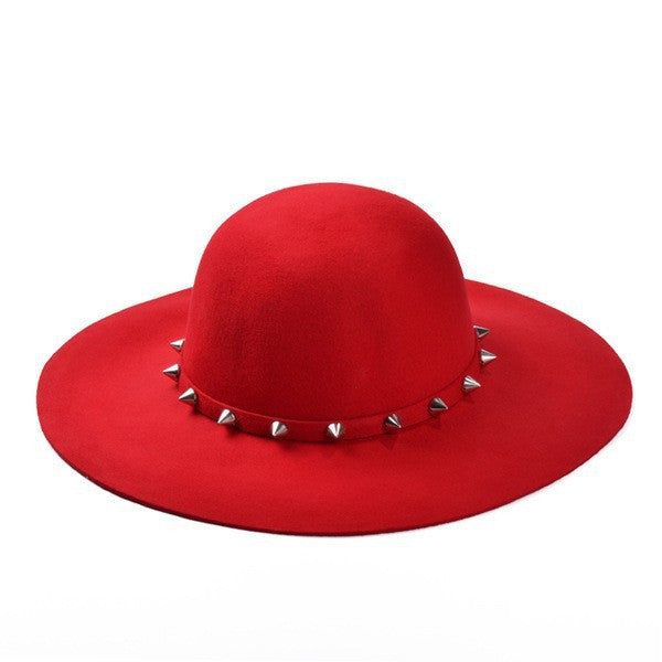 Floppy Hat With Studs -Accessories - 30$fashion