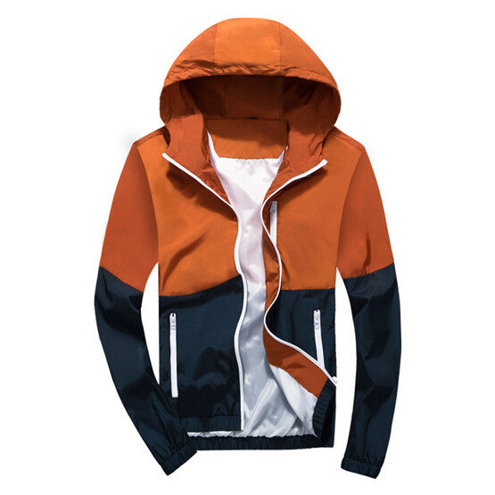 Thin Windbreaker Jacket -Mens tops - 30$fashion