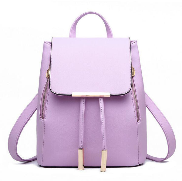 Escolar Leather Backpack -Backpack - 30$fashion