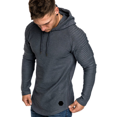 DIMUSI Brand Fashion Mens Hoodies Men Solid Color Hooded Slim Sweatshirt Mens Hoodie Hip Hop Hoodies Sportswear Tracksuit,TA301 - - 30$fashion