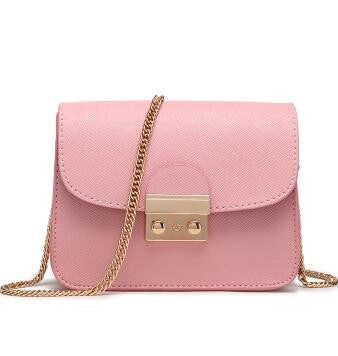 Gold Chain Mini Solid Shoulder Bag -handbags - 30$fashion