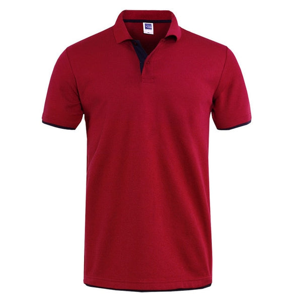 Mens Polo Shirt Brands Clothing 2019 Short Sleeve Summer Shirt Man Black Cotton Poloshirt Men Plus Size Polo Shirts -mens shirts - 30 Dollar Fashion
