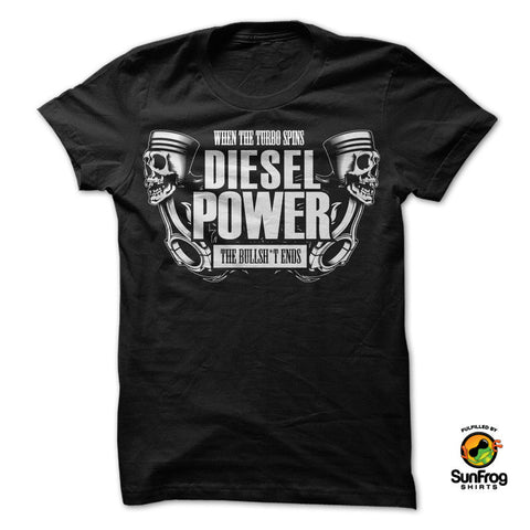 Diesel Power Shirt - Speedy Trends