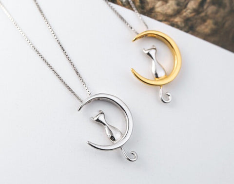 Cat Moon Necklace Offer