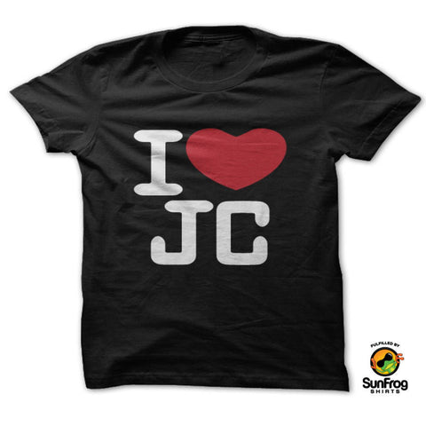 I Love JC Shirt - Speedy Trends