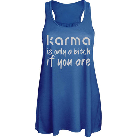 """Karma Is Only A Bitch if You Are"" Yoga T Shirt Series - Speedy Trends"