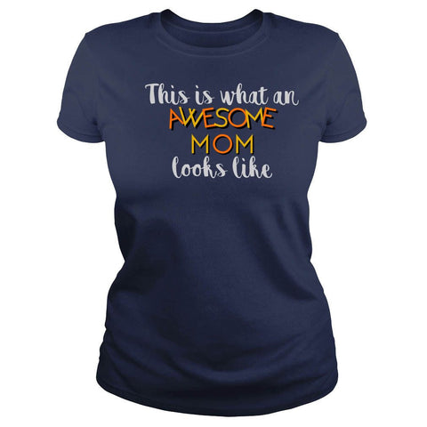 """Awesome Mom"" New Mom T Shirt Collection - Speedy Trends"
