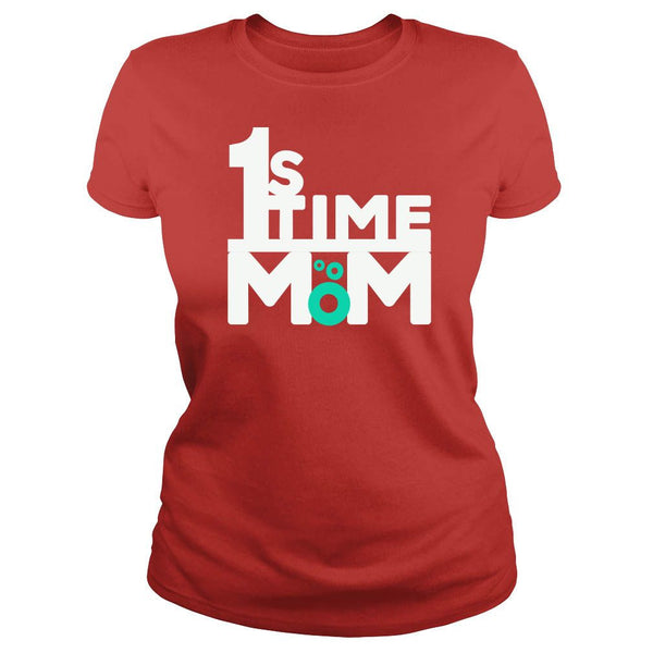 """1st Time Mom"" New Mom T Shirt Collection - Speedy Trends"