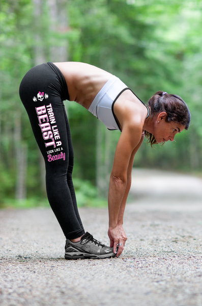 """Train Like A Beast"" - Fitness Leggings Series - Speedy Trends"
