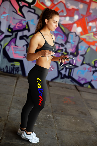 """Caleña"" Leggings (Colombian Sayings Series) - Speedy Trends"