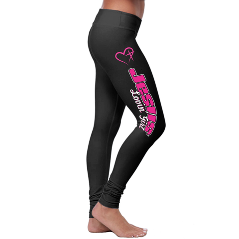 """Jesus Loving Girl"" Christian Leggings Series - Speedy Trends"