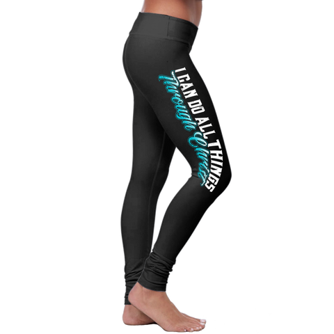 """I Can Do All Things"" Christian Leggings Series - Speedy Trends"