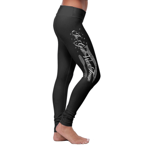 """In God We Trust"" Christian Leggings Series - Speedy Trends"