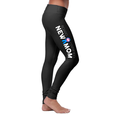 """Board Certified"" New Mom Leggings Collection - Speedy Trends"