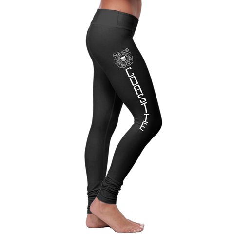 """Coastie"" Leggings (Coast Guard Series) - Speedy Trends"