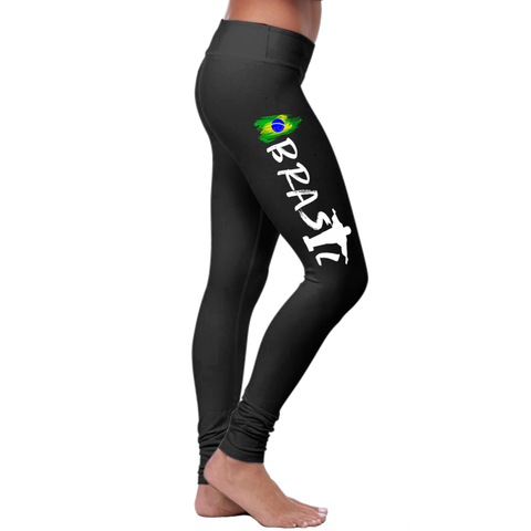 """Brasil 1"" Brazilian Leggings Series - Speedy Trends"