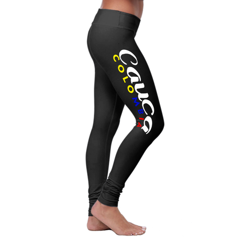 """Cauca"" Leggings (Colombian Sayings Series)"