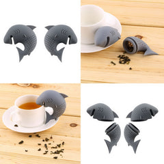 """Save the Shark"" Tea Infuser Filter - Speedy Trends"