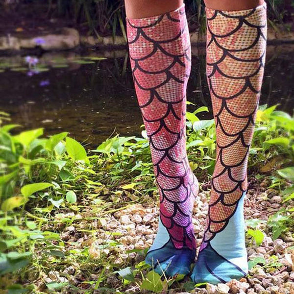 Mermaid Socks - Not Sold In Stores!