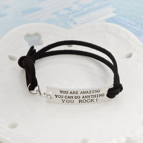 """YOU ARE AMAZING..."" Bracelet"