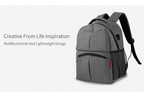Diaper Backpack for Moms and Dads