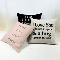 Creative Decorative Pillows