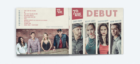 Debut - 7th Ave - CD SIGNED!!!