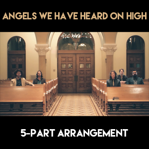 Angels We Have Heard On High (5-Part Version) - Sheet Music