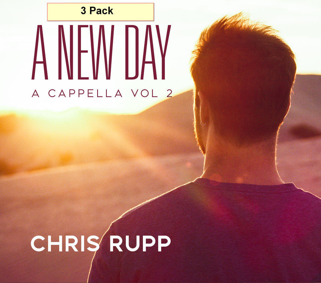 A New Day: A Cappella Vol 2 CD - 3 pack