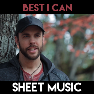 Best I Can - Sheet Music