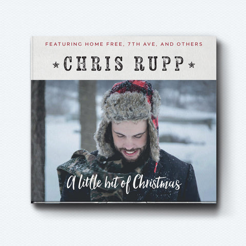 A Little Bit of Christmas EP CD - SIGNED! CLEARANCE