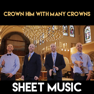 Crown Him Many Crowns - Sheet Music
