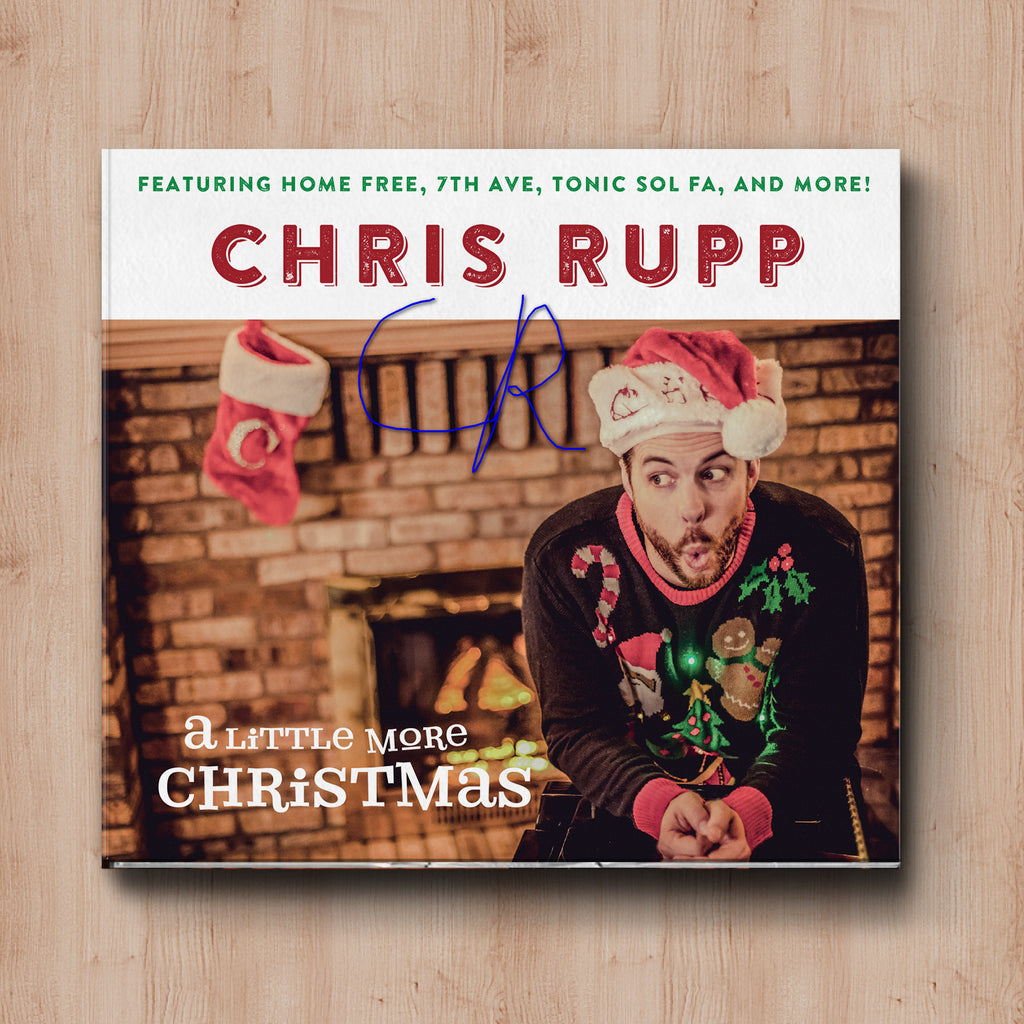 a little more christmas cd signed - Christmas Cd