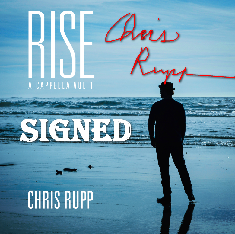 Rise: A Cappella Vol 1 CD - SIGNED