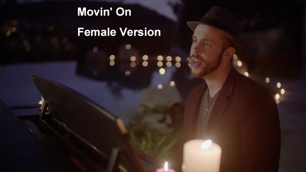 Movin' On Sheet Music - Female Version
