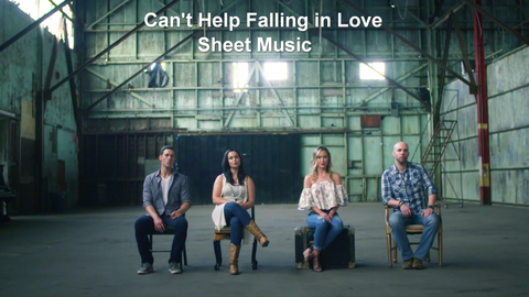 Can't Help Falling In Love - Sheet music