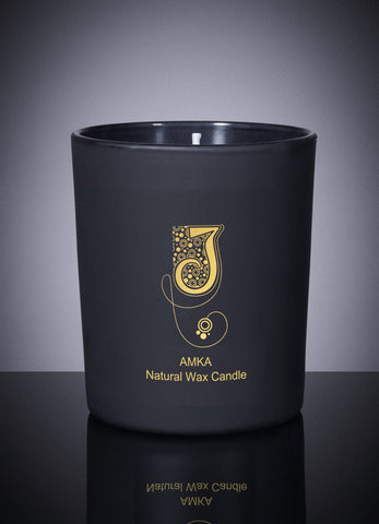 Amka Natural Wax Candle - NOW AVAILABLE!