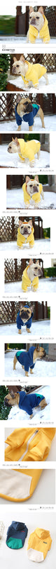 French Bulldog comfy Hoodie Great for cold weather States. Keep your French bulldog warm