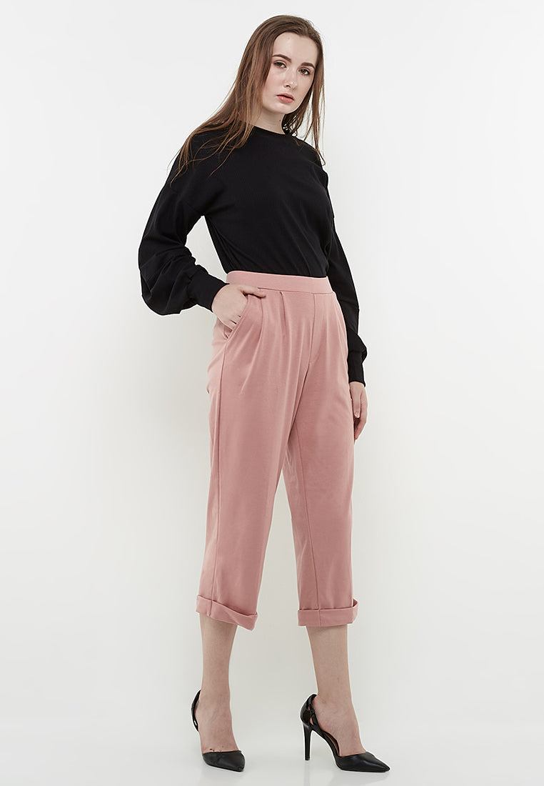 Easy Pants - Dusty Pink