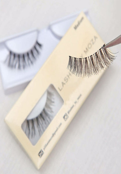 Eye Lashes By Moza Medium ( 3 Boxes)