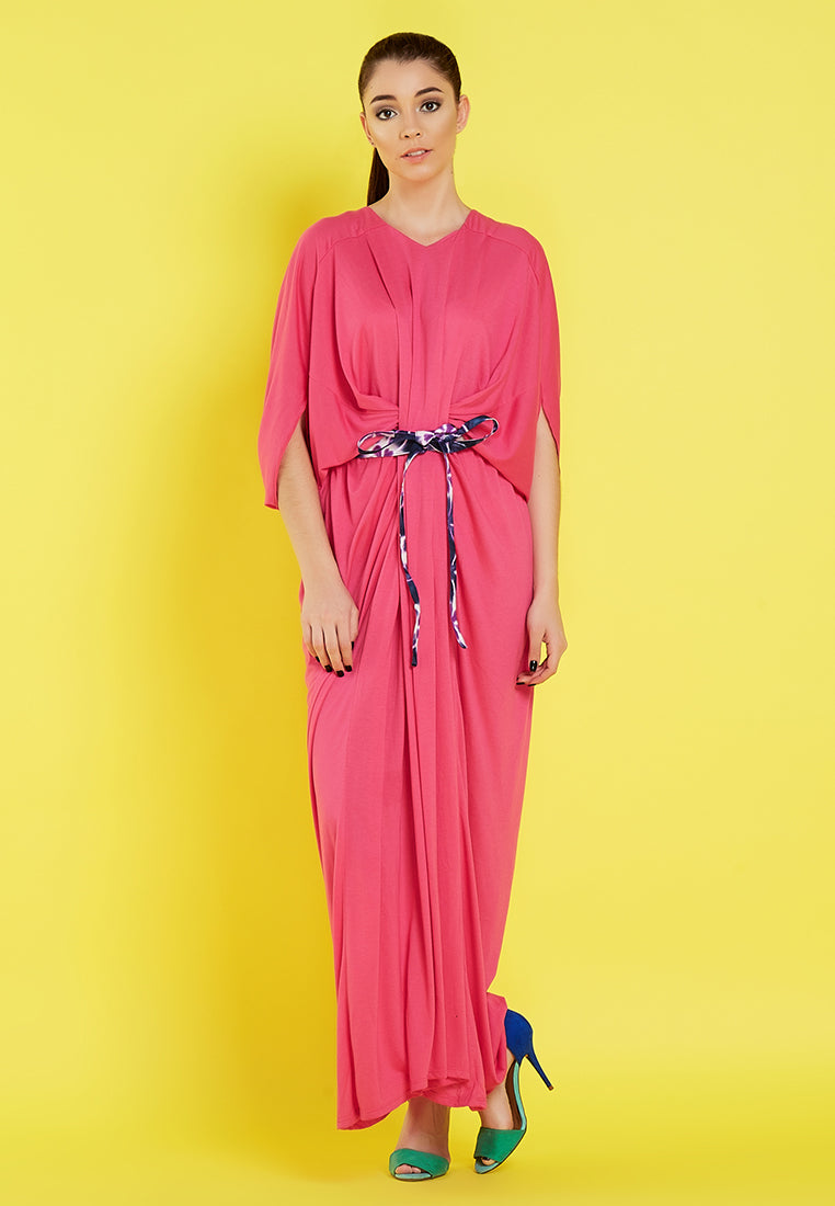 Maxi Dress - Pink (OBI Not Include)