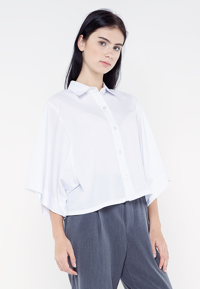 Boxy White Shirt