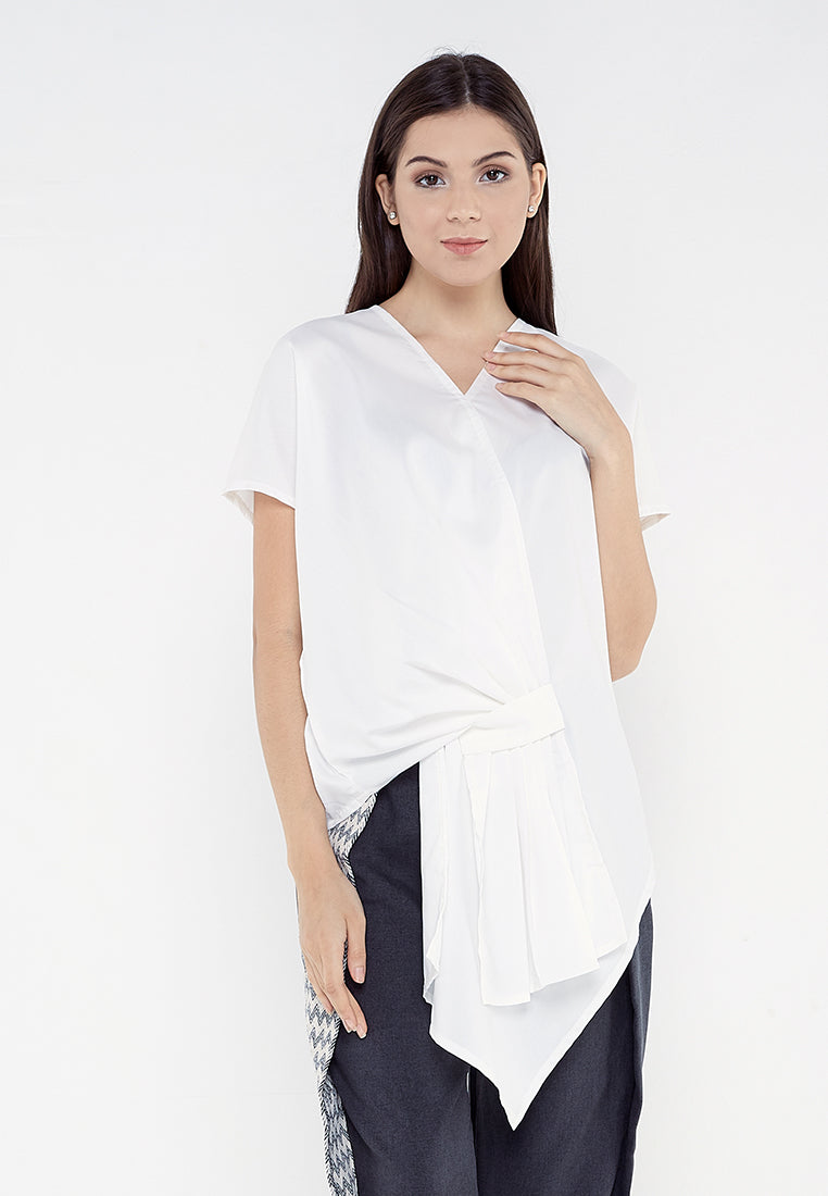 Rample Blouse - Broken White