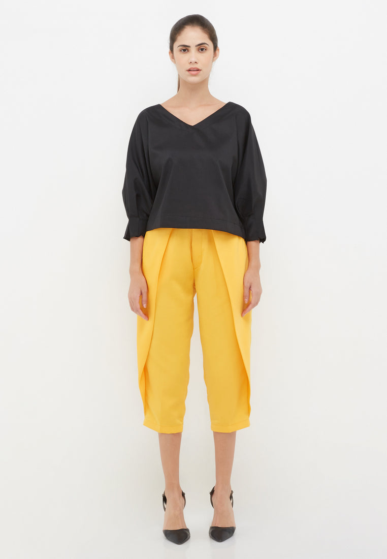 Everyday Capri Pants - Yellow
