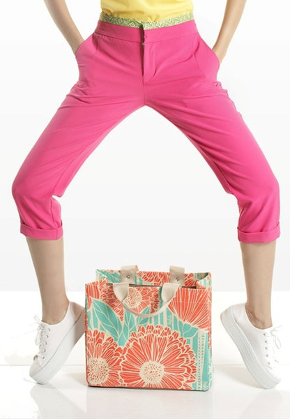 SAMPLE SALE - Midi Pink Pants