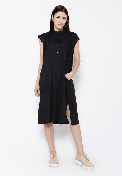 Boxy Dress Black