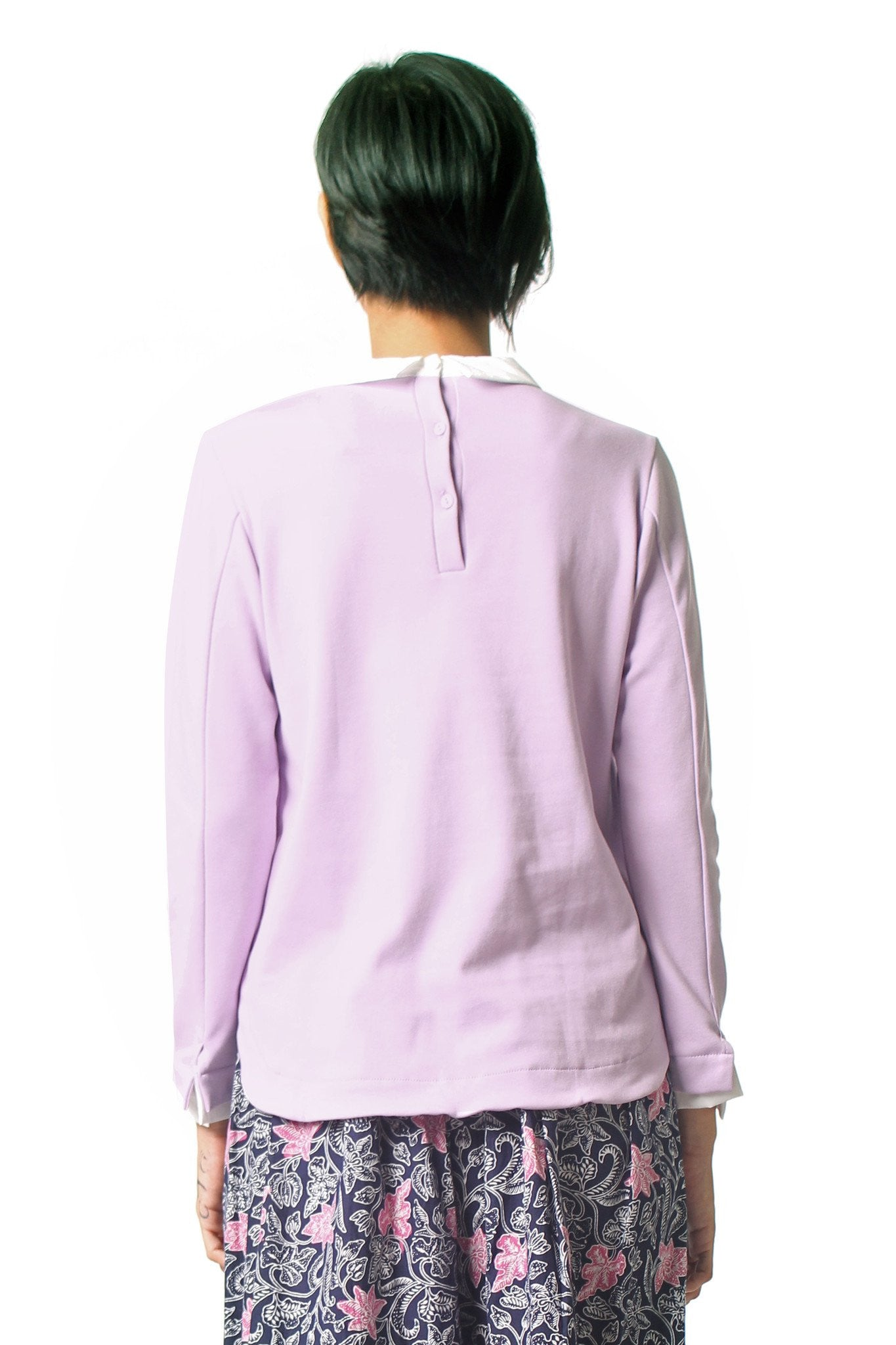 Double Layered Shirt - Purple
