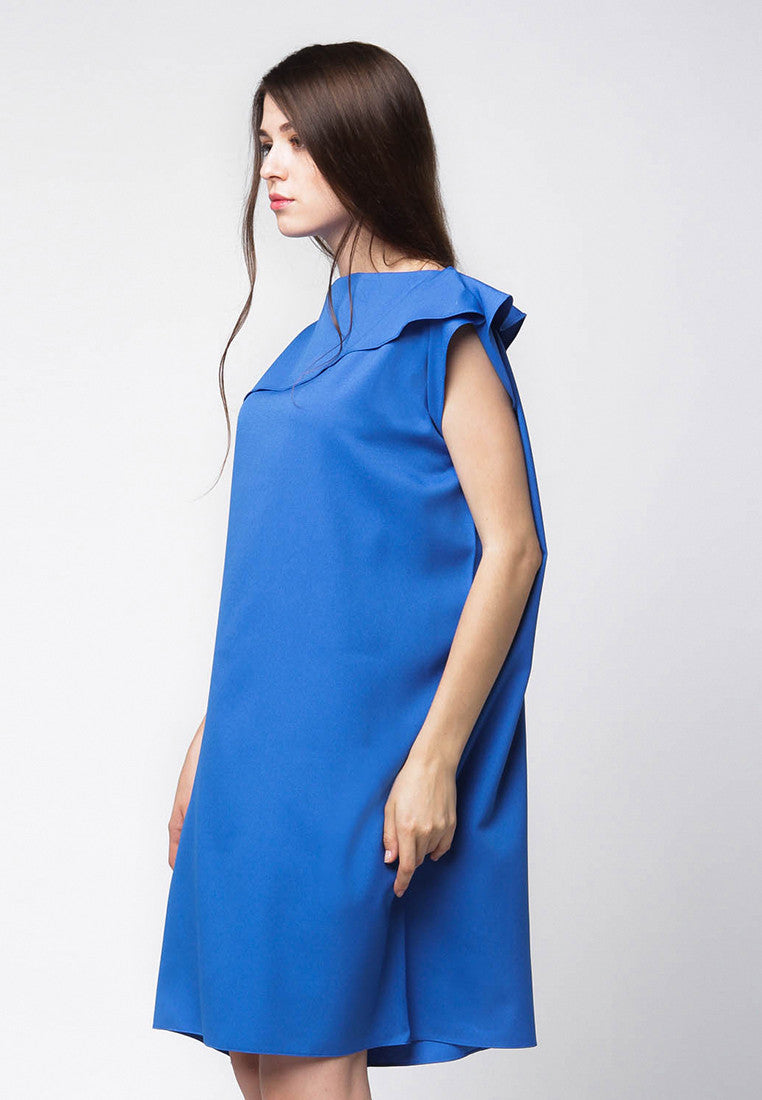 Little Loose Dress - Blue
