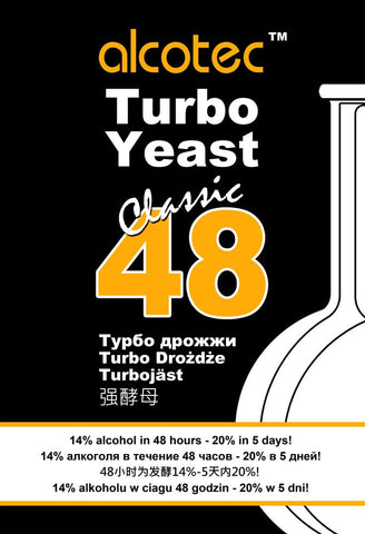 Alcotec Classic 48 Hour Turbo Yeast